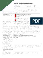 gabriel magana - cunningham senior capstone product proposal