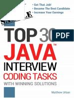 Java Interview Coding Tasks-sample