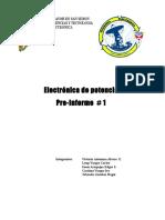 Informe laboratorio, Diodo electrónica de potencia