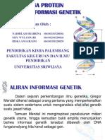 Aliran Informasi Genetik PPT