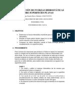 DETERMINACIÓN DE FUERZAS HIDROSTÁTICAS SOBRE SUPERFICIES PLANAS.docx