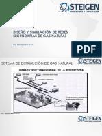 Diseño y Simulación de Redes Secundarias de Gas
