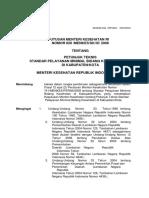 Kepemenkes 828 Tahun 2008 Juknis SPM Kesehatan.docx