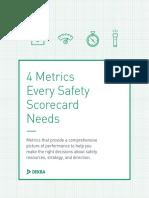 4 Metrics Every Safety Scorecard Needs