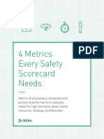 4 Metrics Every Safety Scorecard Needs