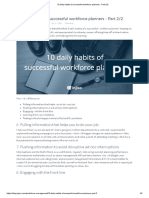 10 Daily Habits of Successful Workforce Planners - Part 2_2