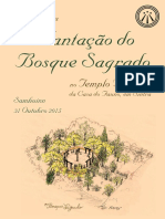 Plantação do Bosque Sagrado