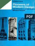 Pevsner, Nikolaus - Pioneers of Modern Design