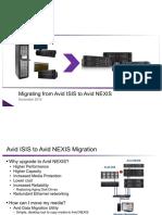 ISIS-Avid NEXIS Migration Dec2016 test