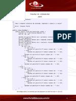 Codigo Teste Tecnico de Informatica PDF 03