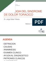 Semana 3 Sesión 1 - Sindrome de Dolor Toracico - Dr. Solari