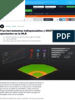 Apuestas de Béisbol _ 3 Herramientas Indispensables y GRATUITAS