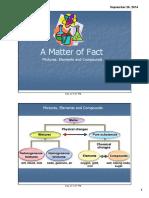 Matter and Properties of Matter
