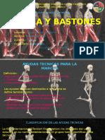 Ortesis y Protesis marcha y bastones