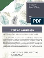 SOLEDAD Writ of Kalikasan