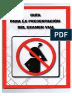 Guia Examen de Manejo Mexico