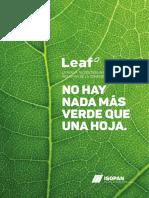 Isopan Leaf Brochure