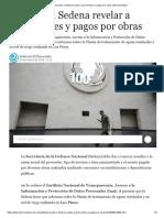 [2019 03 03] Inai Pide a Sedena Revelar a Proveedores y Pagos Por Obras (El Economista)