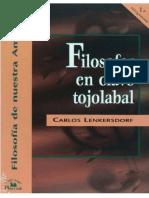Lenkersdorf, Carlos - Filosofar en Clave Tojolabal.pdf