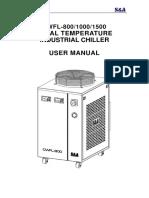 6. Chiler CWFL-800 1000 1500 user manual 17612 (1)