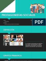 PROTAGONISTAS SOCIALES