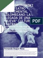 Jerzi Grotowski en el teatro experimental en Colombia.pdf
