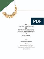 El teatro como mundo de formación ante nuestro mundo de violencia.pdf