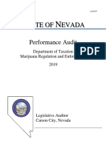 Nevada Marijuana Audit