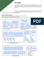 3 d Printer Manual