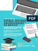 Puebla, segundo estado con más universidades en México