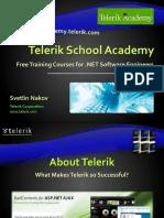 1. Telerik School Academy Presentation