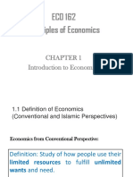 Chapter 1 - Introduction to Economics