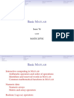 Lecture 02-Basic MATLAB
