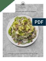 10-Hoisin Chicken and Pickled Daikon