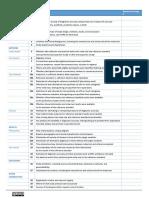 Checklist stard