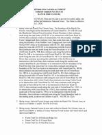 Mendocino National Forest Order No. 08-19-01 - Mendocino Complex area