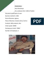 Ramakrishna Sangam Milk Parlour Project