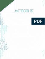 Parametros Desempeño en La Fuentes de Potencia AC DC - FACTOR K