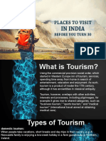 Tourist Places Visit in India
