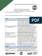 u6 evaluation journal