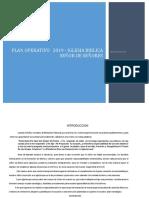 Plan Estrattegico Operativo -2019