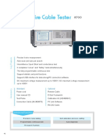 Upload Download 4-Wire Cable Tester 8700