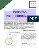 periodo preembrionario