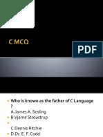C  MCQ