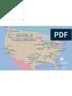 High Speed Rail Corridors Map
