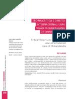 China Mieville e Pachukanis