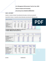 Quantitative Analysis for Management- Decision Analyisis and Forecasting