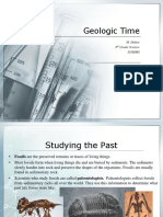 geologic time ppt
