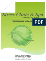 Portafolio de Servicios Stress Clinic & Spa