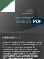 24-03- 2018 Cognitivismo Esistenziale